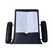 "BodyMed Head Rest Paper Sheets W/Slit 12.00"" x 12.00"""