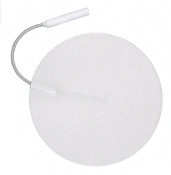 "3.00"" Round Electrodes, White Foam Carbon Film, Latex Free, MultiStick Gel®, (NPP4003IR) 4/Pack"